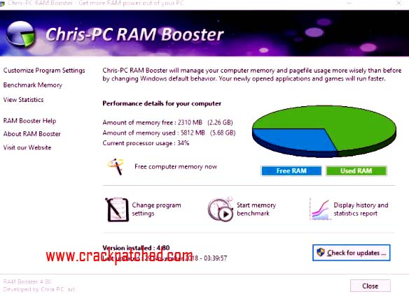 Chris-PC Game Booster Crack